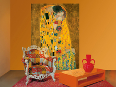 W+G Giant Art® Gustav Klimt: The Kiss 115x175 cm